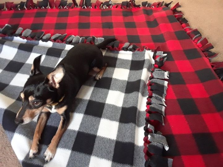 snuggle up this fall with your own no sew blanket