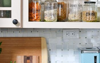 how to make your own clear labels for pantry jars from packing tape