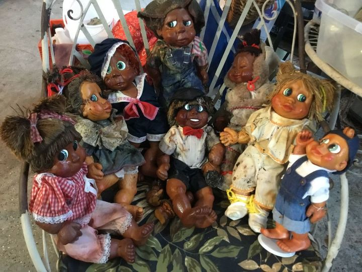 q how to clean porcelain and wooden dolls
