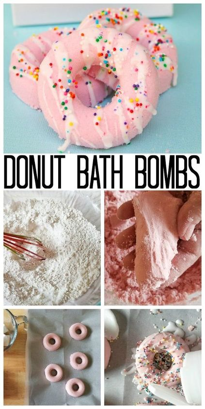 donut diy bath bombs