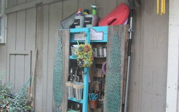 Pallet Wannabe Garden Tool Shed