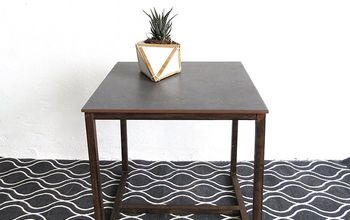How to Make a Side Table With a Tile