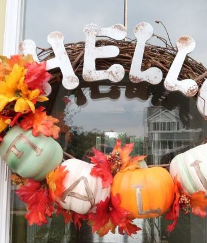 easy peasy fall wreath