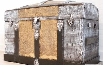 Antique Steamer Trunk Project