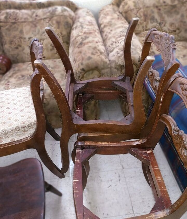 worn torn to fresh cozy chairs