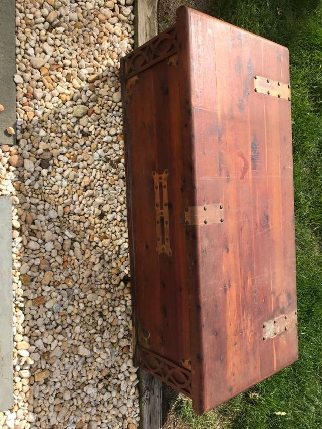 q does anyone know how old this chest is or how much value it has