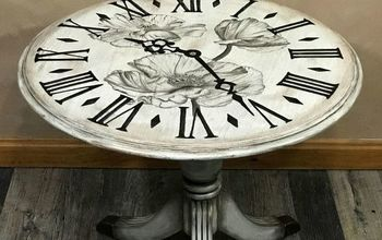 Poppy Clock Table