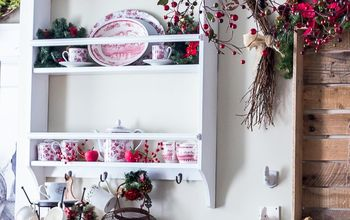 How to Add French Farmhouse Charm to Your Christmas Kitchen Decor