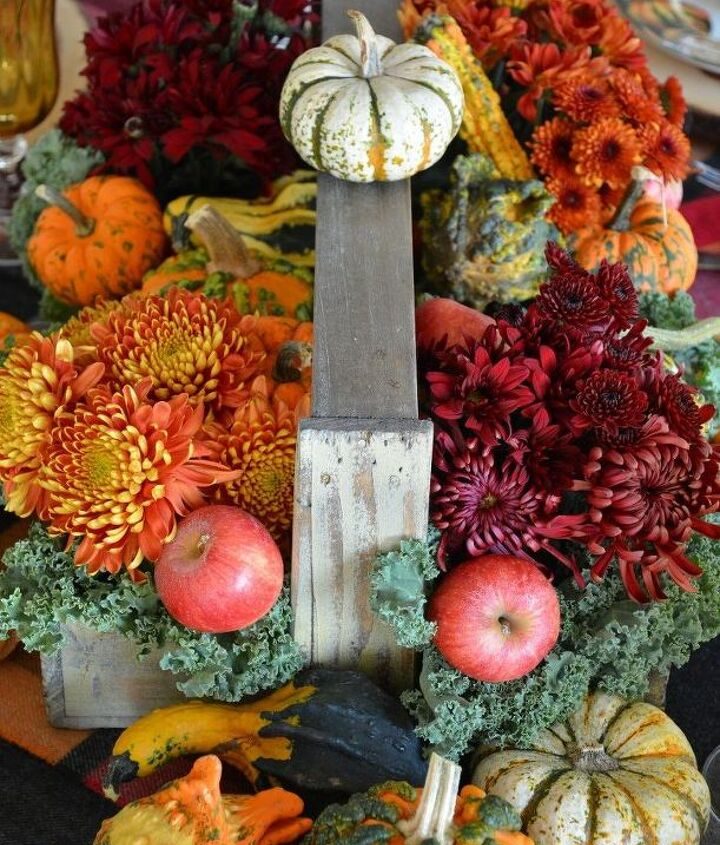 quick and easy harvest centerpiece