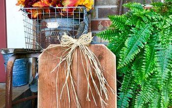 fence picket pumpkin