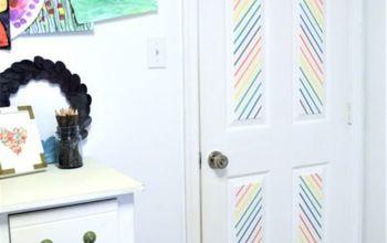 Washi Tape Your Door!