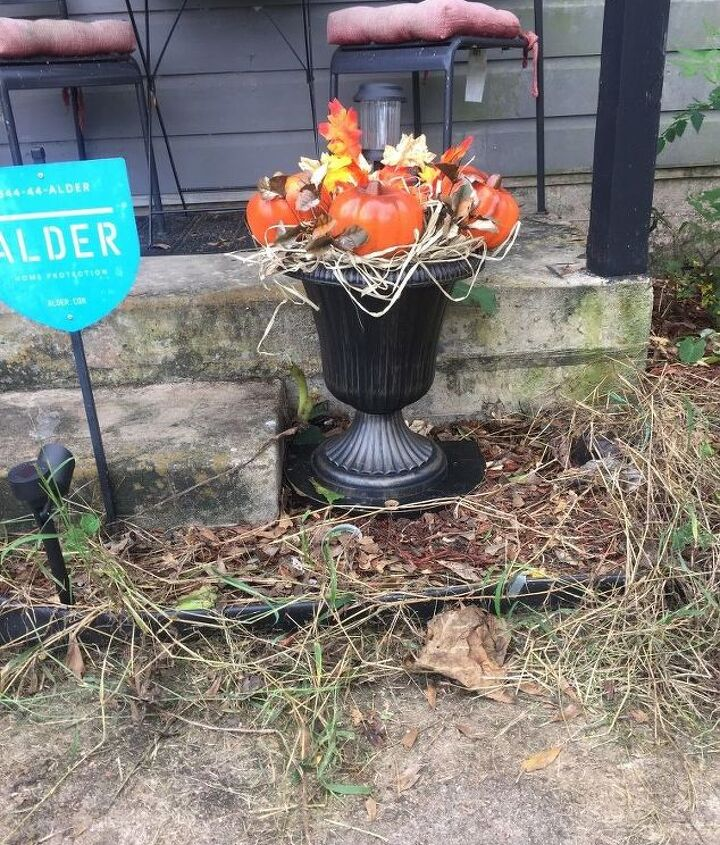 fall front porch makeover part 1