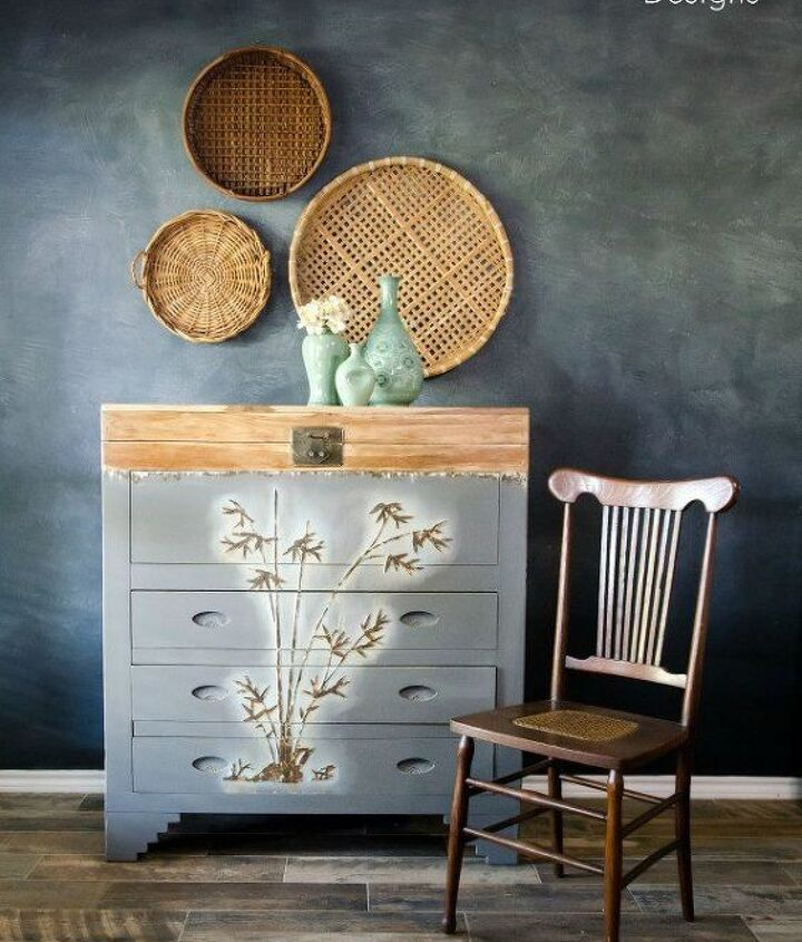 learn how to paint over mother of pearl furniture