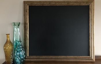 chalkboard from art frame