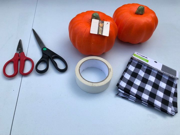 Diy Buffalo Check Pumpkins Hometalk