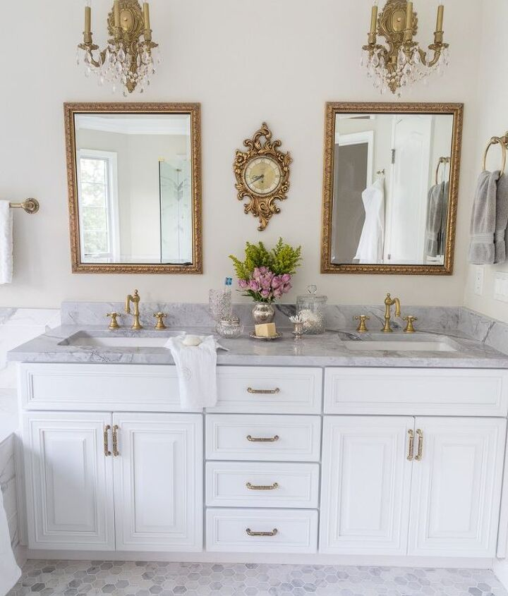 master bathroom reveal new bathroom makeover before and after