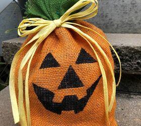 Handmade Halloween Burlap Jack O Lantern Hometalk