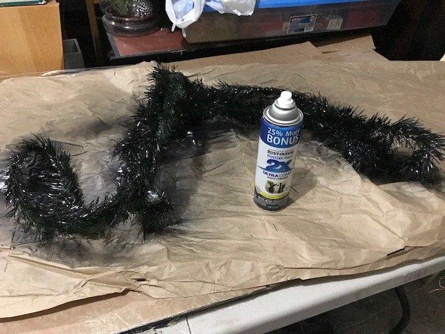 Astounding Dollar Tree Halloween Skeleton Bride Wreath Hometalk Ncnpc Chair Design For Home Ncnpcorg