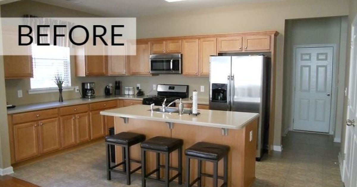 clean painting kitchen cabinets white | These ideas will totally transform your kitchen cabinets ...