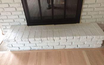 q fireplace surround flooring