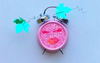 jack o lantern clock