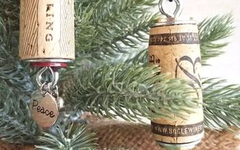 easy wine cork ornaments