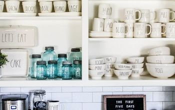 quick easy coffee bar makeover