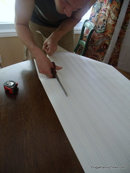 How To Install Paintable Beadboard Wallpaper
