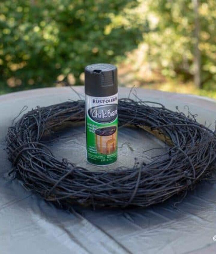 crow s nest halloween wreath
