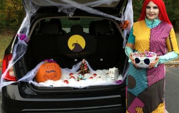 nightmare before christmas halloween trunk decor