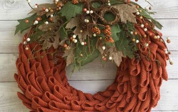 Petal Pumpkin Wreath