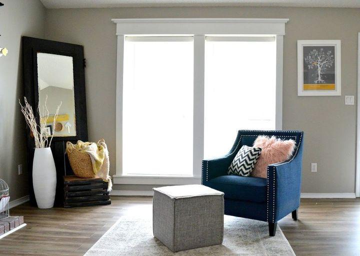 diy craftsman window trim