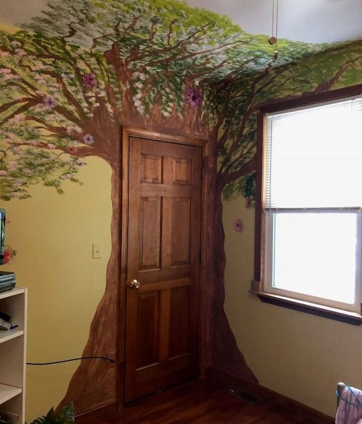 new enchanted forest bedroom for olivia part 1