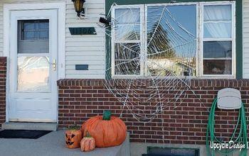 Upcycled Pumpkins for Halloween Display