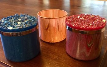Upcycle Glass and Lid From a Candle