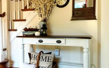 thrift store furniture makeover how paint over chalk paint with latex