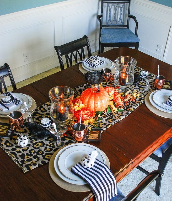 5 tips to set a glam halloween table