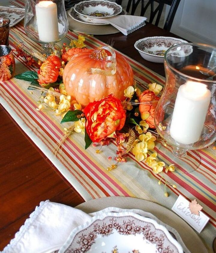 budget friendly pumpkin centerpiece fall to halloween