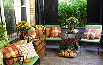 How To Create All The Fall Feels On Your Porch Or Patio
