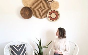 DIY Basket Wall