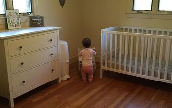 Creating a Simple and Minimalist Nursery in Our Mid-Century Fixer-Uppe