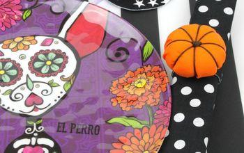 Halloween and Fall DIY Table Decor to Make