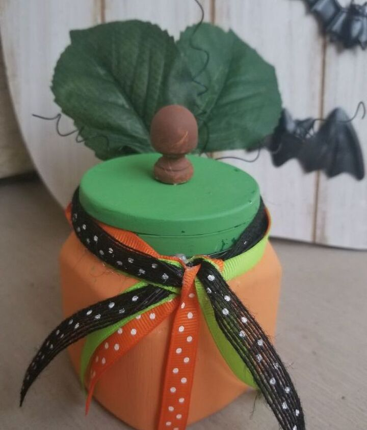 recycle pumpkin diy