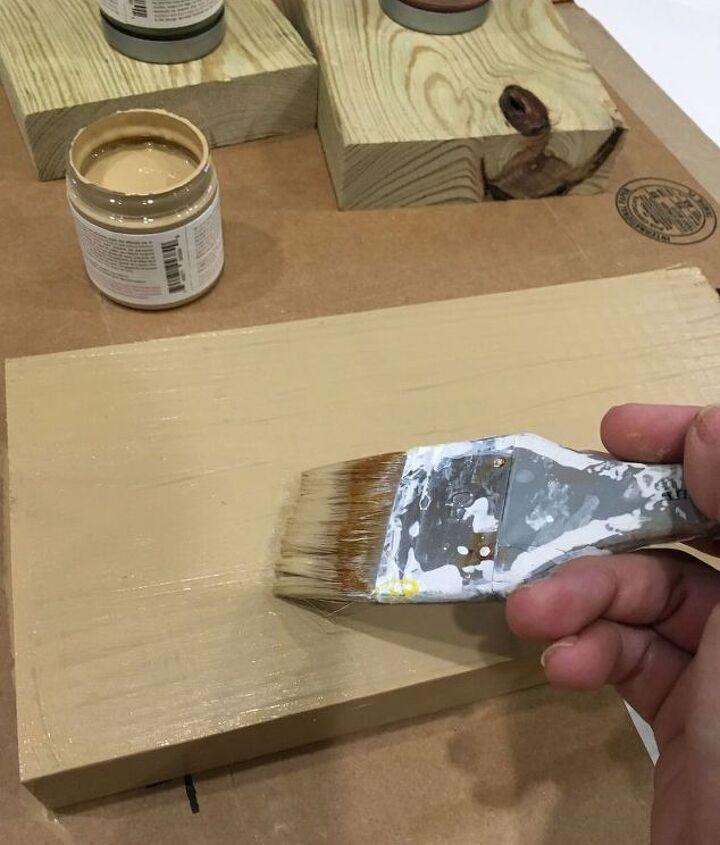 scrap wood pumpkins with vinyl faces