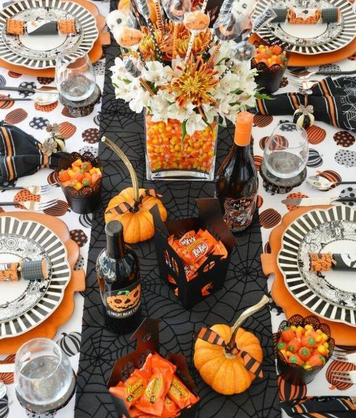 scare up a festive halloween centerpiece