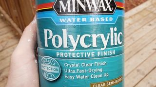 What polyurethane can be used that won't turn white paint