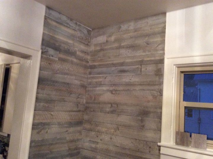 q how to finish my shiplap wall