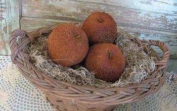 Cinnamon Coated Apples