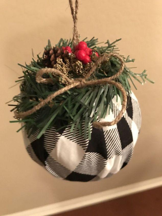 buffalo checker ornament