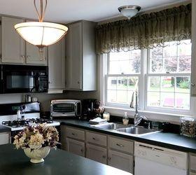 DIY Distressed Kitchen Cabinets   Hometalk